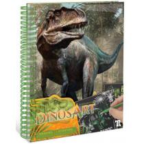 DinosArt : Creative Book - Tableaux à gratter DinosArt