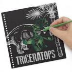 Loisirs créatifs pour enfants - DinosArt : Creative Book - Tableaux à gratter DinosArt - Livraison rapide Tunisie