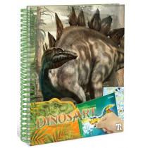 DinosArt : Creative Book - Autocollants par numéro DinosArt