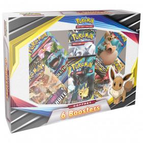 Coffret : Pokémon 6 Boosters 2020