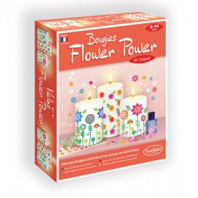 Bougies - Bougies Flower Power