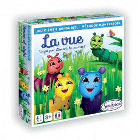 JEU SENSORIEL - LA VUE (Méthode Montessori)