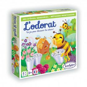 JEU SENSORIEL - L'ODORAT (Méthode Montessori)