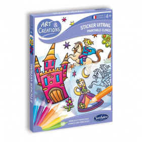 Art & Créations Sticker Vitrail Petits Princes