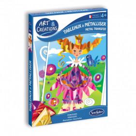 Art & Créations TABLEAUX A METALLISER - PRINCESSES