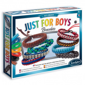 BIJOUX - BRACELETS JUST FOR BOYS