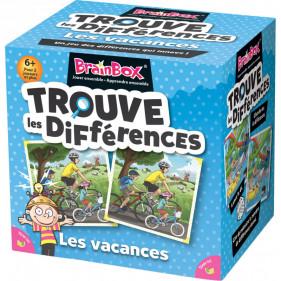 Brainbox le jeu des différences en vacances