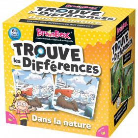 Brainbox le jeu des différences nature sauvage