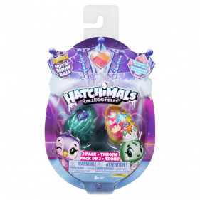 Hatchimals Colleggtibles 2 figurines + Socle Saison 6
