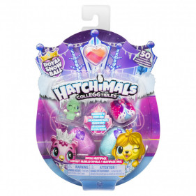 Hatchimals Colleggtibles 4 figurines Saison 6