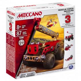 Rescue Force - 3 MODELES Meccano