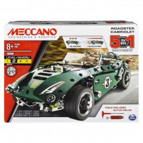 MULTI 5 Model Set - Rétrofiction - 5 MODELES Meccano
