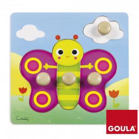 Puzzle Papillon(22x22cm)