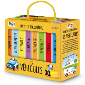 Ma Petite Bibliothèque - Les Véhicules