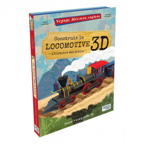 Voyage, découvre, explore - La Locomotive 3D
