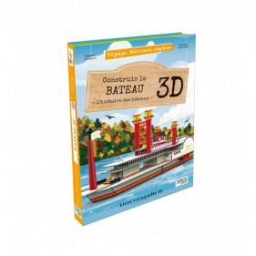 Voyage, découvre, explore - Le Bateau 3D