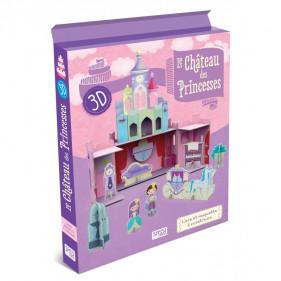 Maquette pour filles - Le Château des Princesses 3D