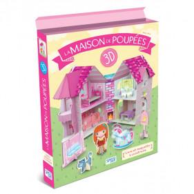 Maquette pour filles - La Maison des Poupées 3D