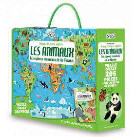 Puzzle coffret - Les Animaux