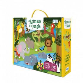 Puzzle coffret enfants - Les Animaux de la Jungle