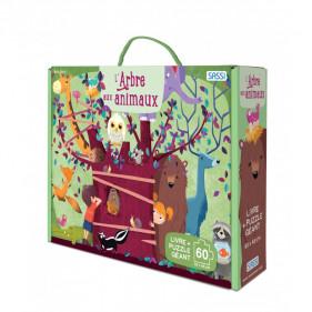 Puzzle coffret enfants - L'arbre aux animaux