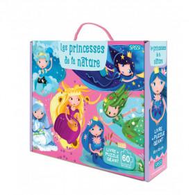 Puzzle coffret enfants - Les princesses de la nature