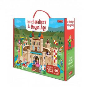 Puzzle coffret enfants - Les chevaliers du Moyen Âge
