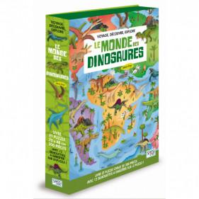 Puzzle silhouette - Le Monde des Dinosaures