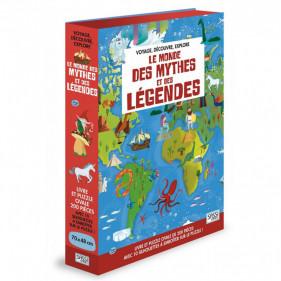 Puzzle silhouette - Le monde des mythes et des légendes