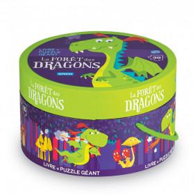 Puzzle rond - La Forêt des Dragons