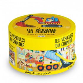 Puzzle rond - Les Véhicules du Chantier