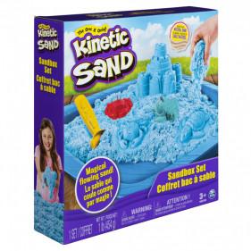 COFFRET CHÂTEAU-BAC A SABLE 450 G Kinetic Sand (assort)