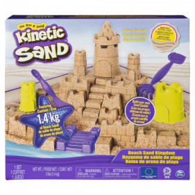 Kinetic Sand Beach Sand Kingdom