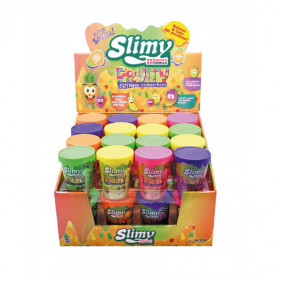 Slimy Fruity 1 pot - 80 Gr 5 Couleurs