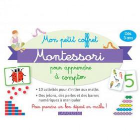 Larousse Coffret - Mon petit coffret Montessori - Apprendre à compter