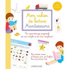 Larousse - Mon cahier de lecture Montessori