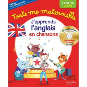 TOUTE MA MATERNELLE - J'APPRENDS ANGLAIS + CD