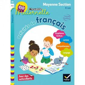 CHOUETTE MS - ACTIVITÉS DE FRANÇAIS MOYENNE SECTION