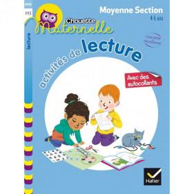 CHOUETTE MS - ACTIVITÉS DE LECTURE MOYENNE SECTION