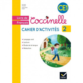 Coccinelle - CE1 cahier d'activités 2