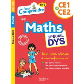 DYS - Pour comprendre DYS Les maths spécial DYS CE1 / CE2