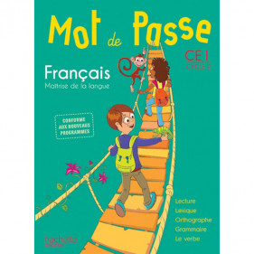 Mot de passe CE1 - Cycle 2 - Français - Guide pédagogique