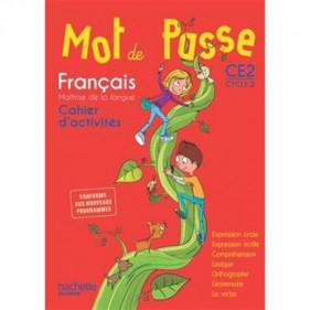 Mot de passe CE2 - Cycle 2 - Français - Cahier d'activités