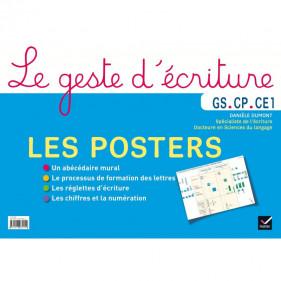 Le geste d'écriture GS, CP, CE1 - Les posters