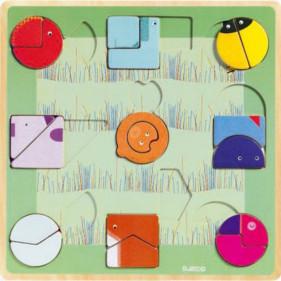 Puzzle en bois - Ludiform